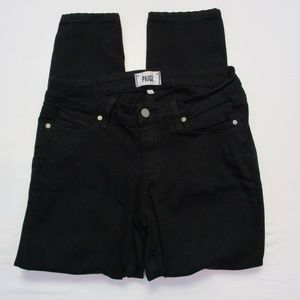 Paige Verdugo Transcend Ultra Skinny Black Jeans